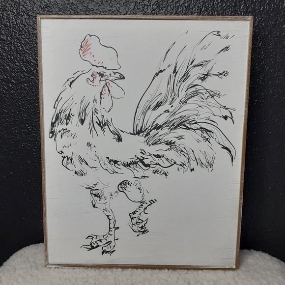 NWT! Rooster Wall Decor